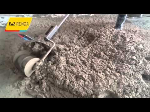 Cement mixer-Concrete Mixer robot site demonstration