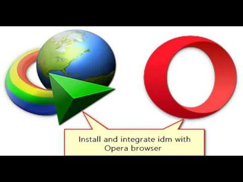 How to Install and Integrate IDM with Opera Browser