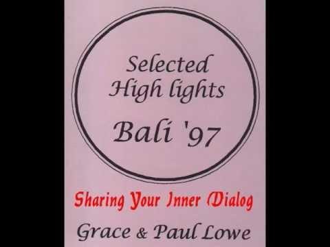 Sharing your inner dialog - Paul Lowe