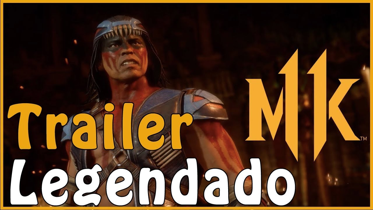 Mortal Kombat 11 - Trailer - Nightwolf DLC - LEGENDADO PT-BR