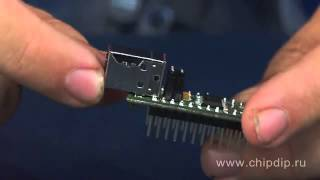 MMUSB232RL, переходник USB UART на базе FT232RL