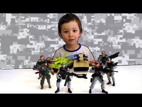 Военные игрушки Солдатики Танки Игры для мальчиков | Military toy soldiers tanks. Games for boys