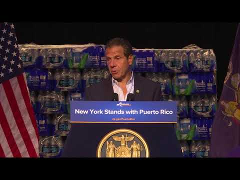Puerto Rico Relief and Recovery Effort Announcement Governor's Remarks