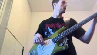 Damage Inc (Metallica Bass Cover) on a Musicman Stingray 5