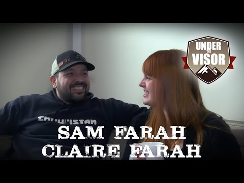"Sam and Claire Farah, Full Length ""Under the Visor"" interview"