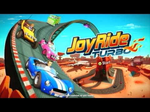Joyride Turbo Xbox 360 First Race and Review - YouTube