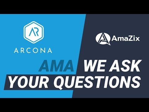 Arcona AMA with AmaZix