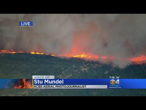 KCBS Aerial Photojournalist Shares Latest Details On California Fires From Chopper