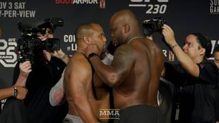 UFC 230 Ceremonial Weigh-In Highlights - MMA Fighting