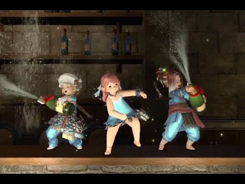 Everybody in the club gettin' tipsy [Lalafell Dance Edition]