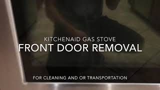 Kitchenaid  Stove Door Removal