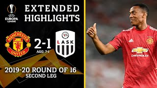 Manchester United Vs Lask: Extended Highlights | 2 1 | Ucl On Cbs Sports