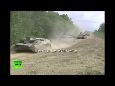 World War 3 : Russian Military stages biggest War Games since the Soviet Era (Jul 14, 2013)