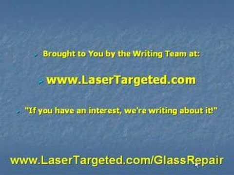 Auto Glass Repair Home Business