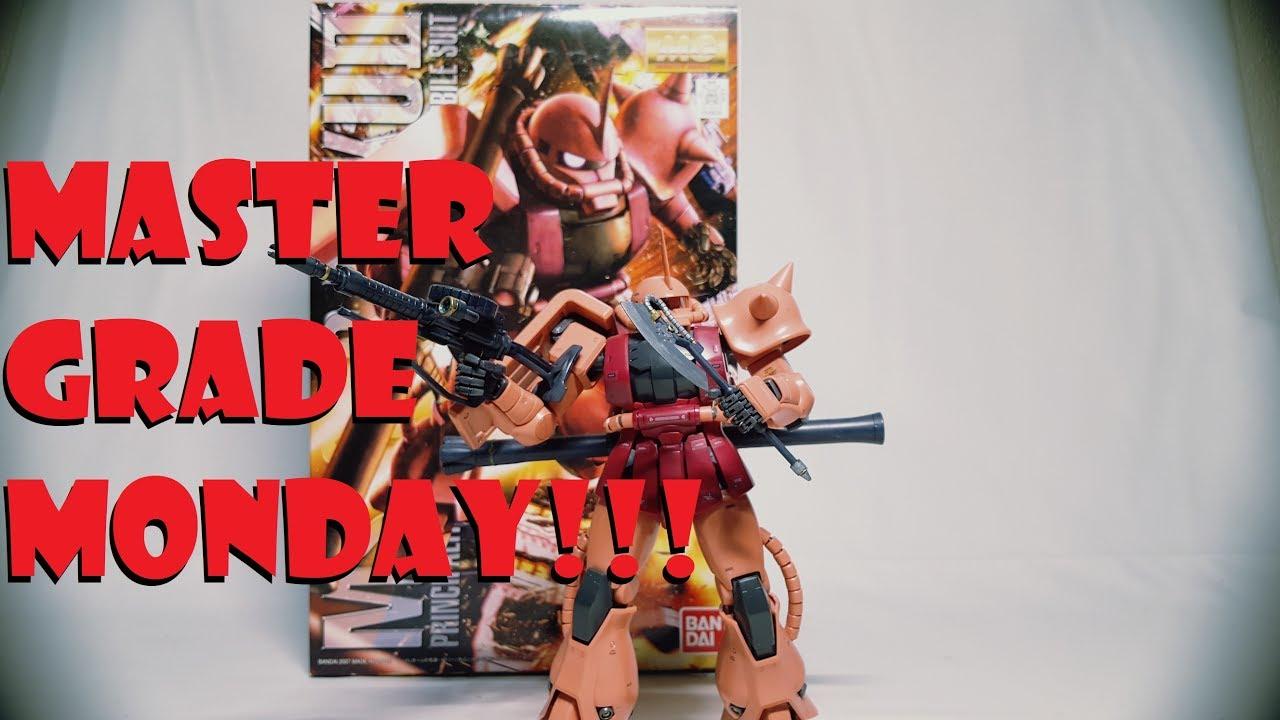 Download MASTER GRADE MONDAY!!! MS-06S CHARS ZAKU II 2.0