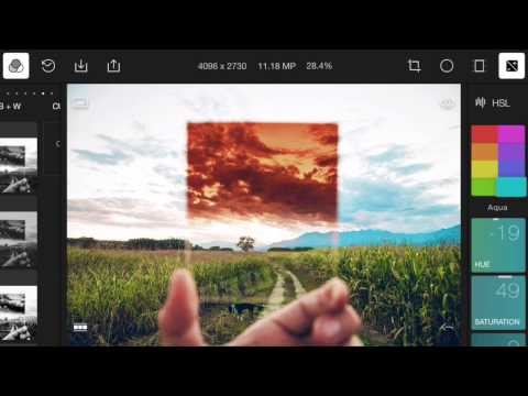 Polarr Photo Editor 1.0 for iPhone/Android Preview