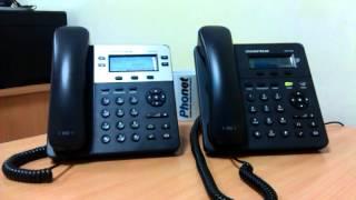перевод звонка на телефоне Grandstream gxp1400/1450