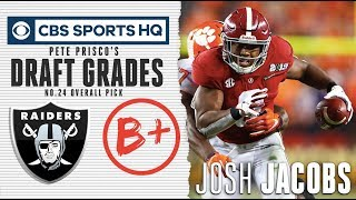 Josh Jacobs is a 'complete' running back | NFL Draft 2019 | CBS Sports HQ