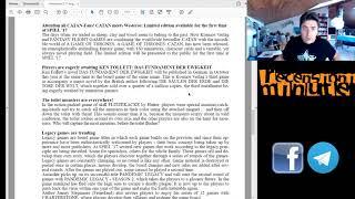 Recensioni Minute #Spiel17 [002] - Presse info n.2