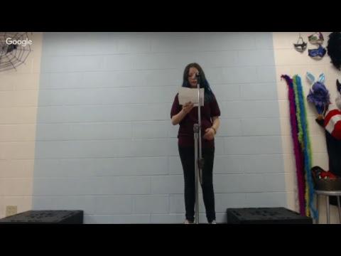 Leestown Middle School - 7th Grade Drama - Poetry Live - Oct. 12, 2017 3:10 p.m.