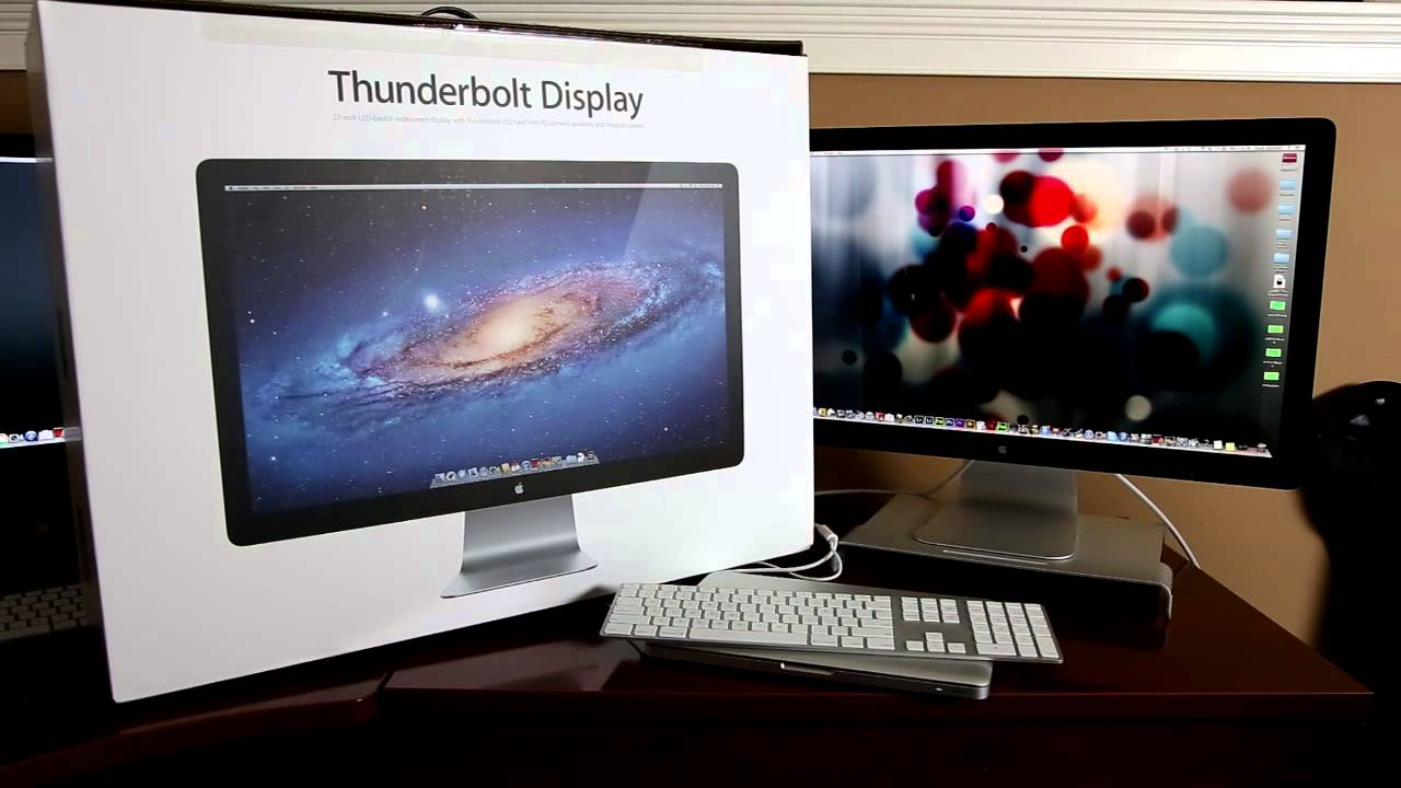 Apple Thunderbolt Display 27 Inch LED - YouTube