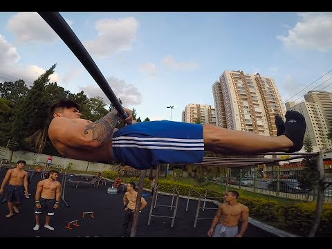 Zarpado Crazy Workout Brasil y Argentina - High Level Street Workout Athletes