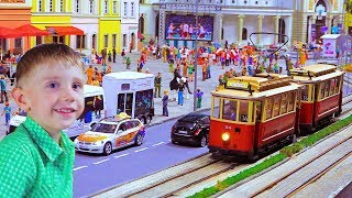 Kolejkowo Wroclaw | Kids World of Trains and Cars For Children 🚂 Railway ModelsTrains for kids