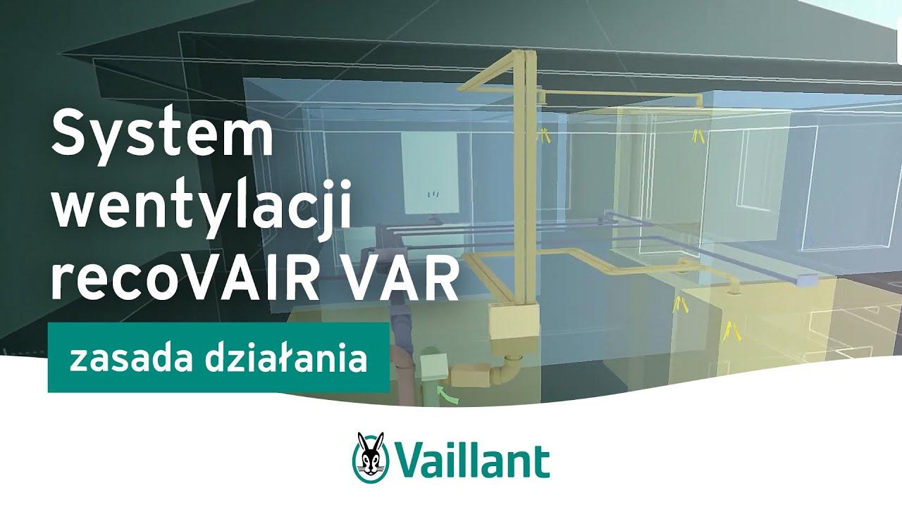 System recoVAIR VAR – jak to działa? Vaillant Polska