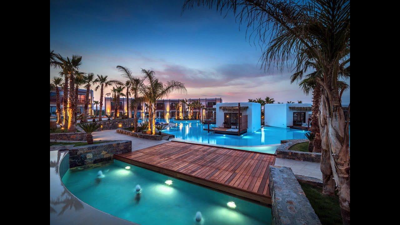 Stella Island Luxury Resort Kreta Youtube