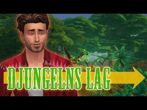 The Sims 4 DJUNGELNS LAG - Del 3: Alligatorselfies och nakenbilder i motljus