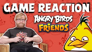 Angry Birds Game Reaction | Nim vs Angry Birds Friends!