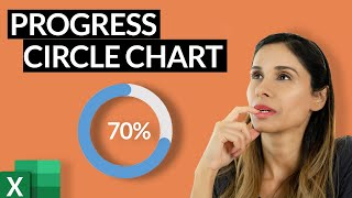 Progress Circle Chart in Excel as NEVER seen before!