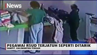 HOROR! Video Pegawai Rumah Sakit Tiba-tiba Jatuh seperti Ditarik - iNews Sore 23/01