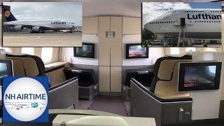 LUFTHANSA AIRBUS A380/BOEING 747-8 CABIN VISIT