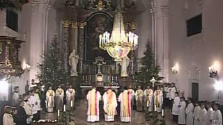 Radujte se narodi - Mješoviti katedralni zbor Požega, 25.12.2012.