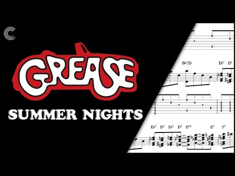 Clarinet - Summer Nights - Grease - Sheet Music, Chords, & Vocals