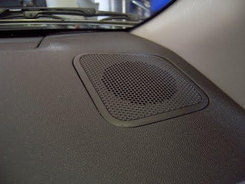 Nissan Armada Speaker Removal - Front Tweeter
