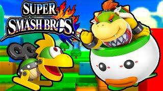 Super Smash Bros 4 3DS: Bowser Jr & Koopalings! New Character All-Star Gameplay Walkthrough PART 6