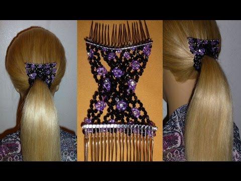 Einfache Frisur zum selber machen: Schule/Alltag.Quick Hairstyle.Peinados
