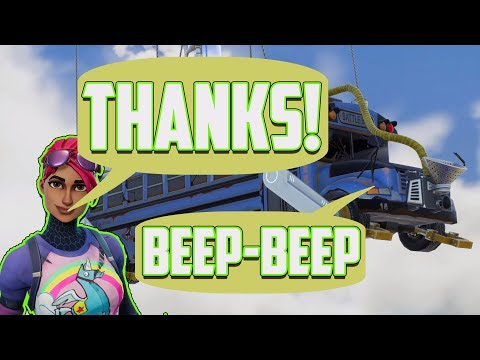 Thank The Bus Driver Fortnite - All Devices ( PS4, Xbox, Switch, Mobile, PC )