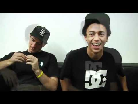 Nyjah Huston Mike Mo: Interview DC Shoes