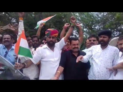 Karni Sena Activists Kashmir march stopped at Lakhanpur