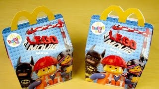 Lego Happy Meal 2014
