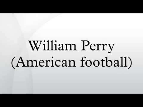 William Perry (American football)