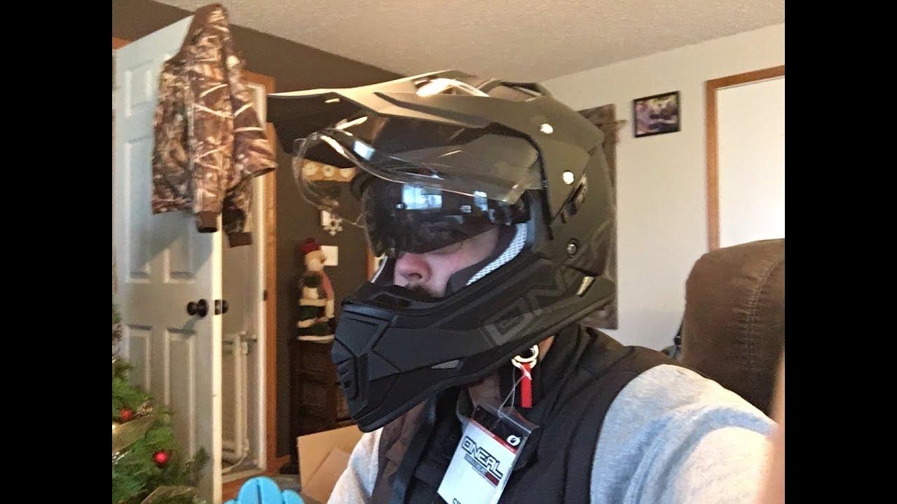 e219d5cd36d46 O Neal Sierra II Mens Full-Face Helmet Unboxing Review - YouTube