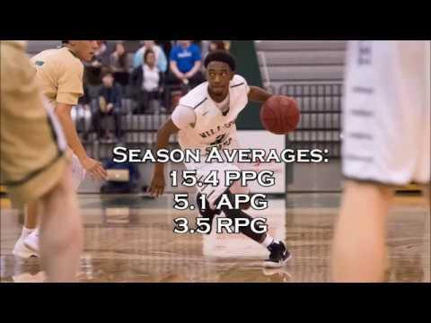 Darrell Riley - Williston State College 2017-2018 Season Highlights