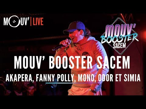 Youtube: Mouv' Booster Sacem: le concert avec Akapera, Fanny Polly, Mono, Odor et Simia!