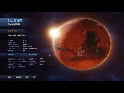 Tourist Trap Challenge - Surviving Mars - New Tourism Update [2021]  
