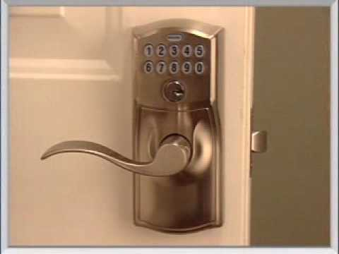 Installing Your Fe595 Keypad Entry Lock Youtube