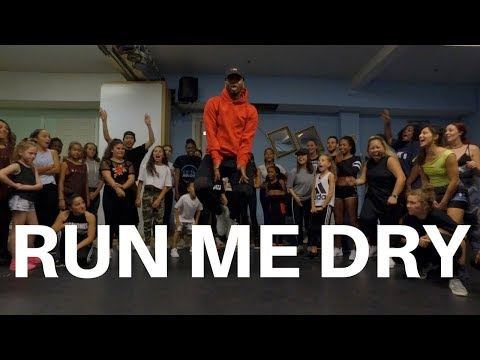Run Me Dry - Bryson Tiller | Dance Choreography @BizzyBoom